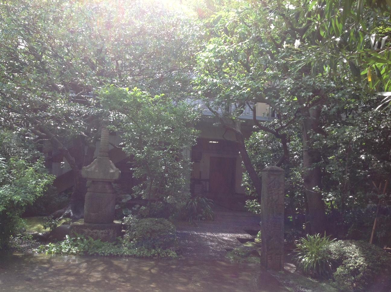「坐禅」龍源寺にて